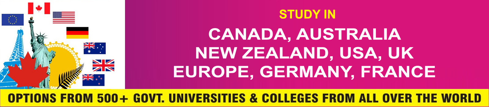 Study In Canada | Charms Education & Immigration
